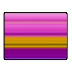 Stripes Colorful Background Colorful Pink Red Purple Green Yellow Striped Wallpaper Double Sided Fleece Blanket (Small)