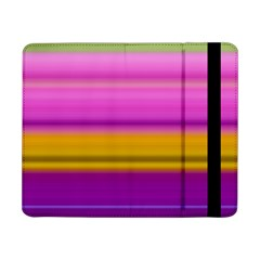 Stripes Colorful Background Colorful Pink Red Purple Green Yellow Striped Wallpaper Samsung Galaxy Tab Pro 8 4  Flip Case