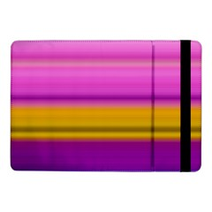 Stripes Colorful Background Colorful Pink Red Purple Green Yellow Striped Wallpaper Samsung Galaxy Tab Pro 10.1  Flip Case