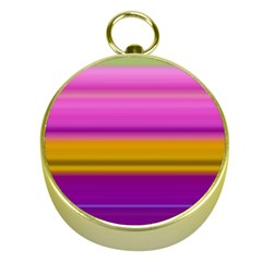 Stripes Colorful Background Colorful Pink Red Purple Green Yellow Striped Wallpaper Gold Compasses