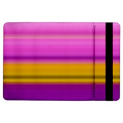 Stripes Colorful Background Colorful Pink Red Purple Green Yellow Striped Wallpaper Ipad Air 2 Flip