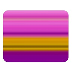 Stripes Colorful Background Colorful Pink Red Purple Green Yellow Striped Wallpaper Double Sided Flano Blanket (Large)