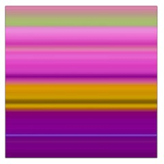 Stripes Colorful Background Colorful Pink Red Purple Green Yellow Striped Wallpaper Large Satin Scarf (Square)