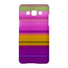 Stripes Colorful Background Colorful Pink Red Purple Green Yellow Striped Wallpaper Samsung Galaxy A5 Hardshell Case