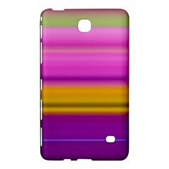 Stripes Colorful Background Colorful Pink Red Purple Green Yellow Striped Wallpaper Samsung Galaxy Tab 4 (8 ) Hardshell Case