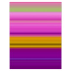 Stripes Colorful Background Colorful Pink Red Purple Green Yellow Striped Wallpaper Drawstring Bag (Large)
