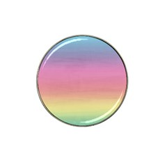 Watercolor Paper Rainbow Colors Hat Clip Ball Marker (10 pack)