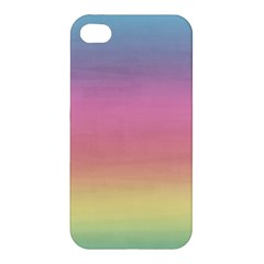 Watercolor Paper Rainbow Colors Apple iPhone 4/4S Hardshell Case
