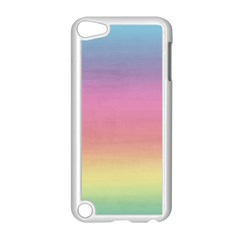 Watercolor Paper Rainbow Colors Apple iPod Touch 5 Case (White)