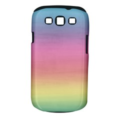 Watercolor Paper Rainbow Colors Samsung Galaxy S Iii Classic Hardshell Case (pc+silicone)