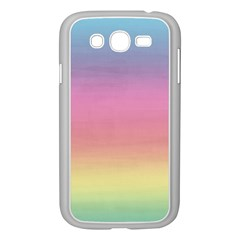 Watercolor Paper Rainbow Colors Samsung Galaxy Grand DUOS I9082 Case (White)