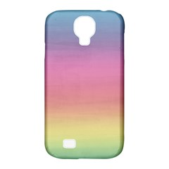 Watercolor Paper Rainbow Colors Samsung Galaxy S4 Classic Hardshell Case (PC+Silicone)