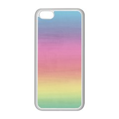 Watercolor Paper Rainbow Colors Apple Iphone 5c Seamless Case (white)