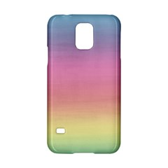Watercolor Paper Rainbow Colors Samsung Galaxy S5 Hardshell Case
