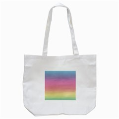 Watercolor Paper Rainbow Colors Tote Bag (white)