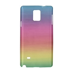 Watercolor Paper Rainbow Colors Samsung Galaxy Note 4 Hardshell Case