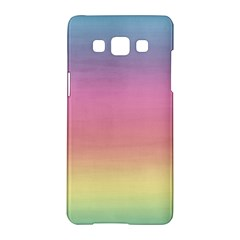 Watercolor Paper Rainbow Colors Samsung Galaxy A5 Hardshell Case