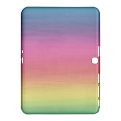 Watercolor Paper Rainbow Colors Samsung Galaxy Tab 4 (10.1 ) Hardshell Case