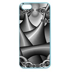 Grey Fractal Background With Chains Apple Seamless iPhone 5 Case (Color)