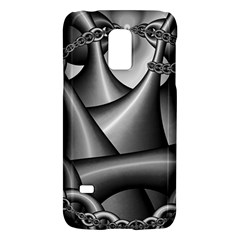 Grey Fractal Background With Chains Galaxy S5 Mini