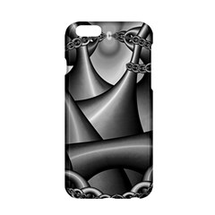 Grey Fractal Background With Chains Apple Iphone 6/6s Hardshell Case