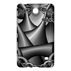 Grey Fractal Background With Chains Samsung Galaxy Tab 4 (8 ) Hardshell Case