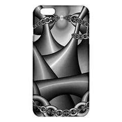 Grey Fractal Background With Chains Iphone 6 Plus/6s Plus Tpu Case