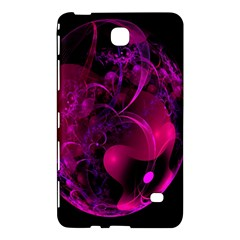 Fractal Using A Script And Coloured In Pink And A Touch Of Blue Samsung Galaxy Tab 4 (8 ) Hardshell Case