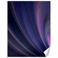 A Pruple Sweeping Fractal Pattern Canvas 12  X 16