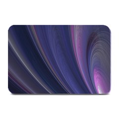 A Pruple Sweeping Fractal Pattern Plate Mats