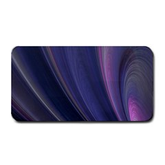 A Pruple Sweeping Fractal Pattern Medium Bar Mats
