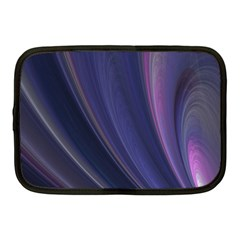 A Pruple Sweeping Fractal Pattern Netbook Case (medium)