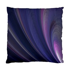 A Pruple Sweeping Fractal Pattern Standard Cushion Case (two Sides)