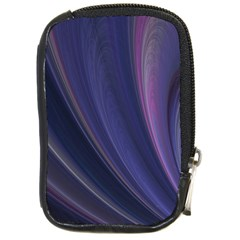A Pruple Sweeping Fractal Pattern Compact Camera Cases