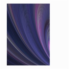 A Pruple Sweeping Fractal Pattern Small Garden Flag (Two Sides)