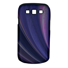 A Pruple Sweeping Fractal Pattern Samsung Galaxy S III Classic Hardshell Case (PC+Silicone)