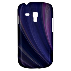 A Pruple Sweeping Fractal Pattern Galaxy S3 Mini