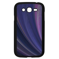 A Pruple Sweeping Fractal Pattern Samsung Galaxy Grand DUOS I9082 Case (Black)