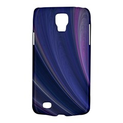 A Pruple Sweeping Fractal Pattern Galaxy S4 Active