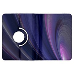 A Pruple Sweeping Fractal Pattern Kindle Fire HDX Flip 360 Case