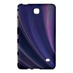 A Pruple Sweeping Fractal Pattern Samsung Galaxy Tab 4 (8 ) Hardshell Case