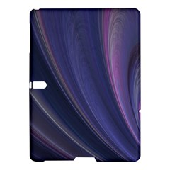 A Pruple Sweeping Fractal Pattern Samsung Galaxy Tab S (10.5 ) Hardshell Case