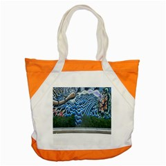 Mural Wall Located Street Georgia Usa Accent Tote Bag