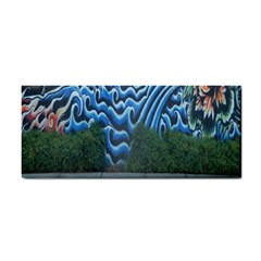 Mural Wall Located Street Georgia Usa Cosmetic Storage Cases