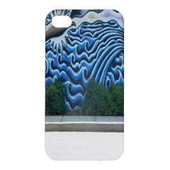 Mural Wall Located Street Georgia Usa Apple iPhone 4/4S Hardshell Case