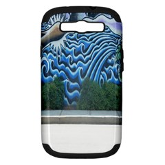 Mural Wall Located Street Georgia Usa Samsung Galaxy S Iii Hardshell Case (pc+silicone)