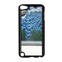 Mural Wall Located Street Georgia Usa Apple Ipod Touch 5 Case (black)