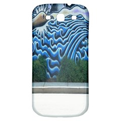 Mural Wall Located Street Georgia Usa Samsung Galaxy S3 S III Classic Hardshell Back Case