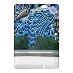 Mural Wall Located Street Georgia Usa Kindle Fire HDX 8.9  Hardshell Case