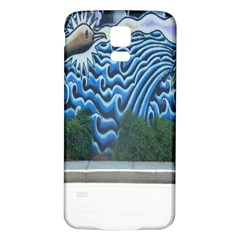 Mural Wall Located Street Georgia Usa Samsung Galaxy S5 Back Case (White)